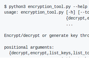 Nitrokey Encryption Tool